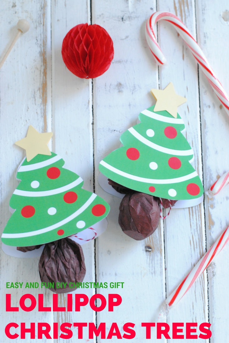 Lollipop Christmas Trees