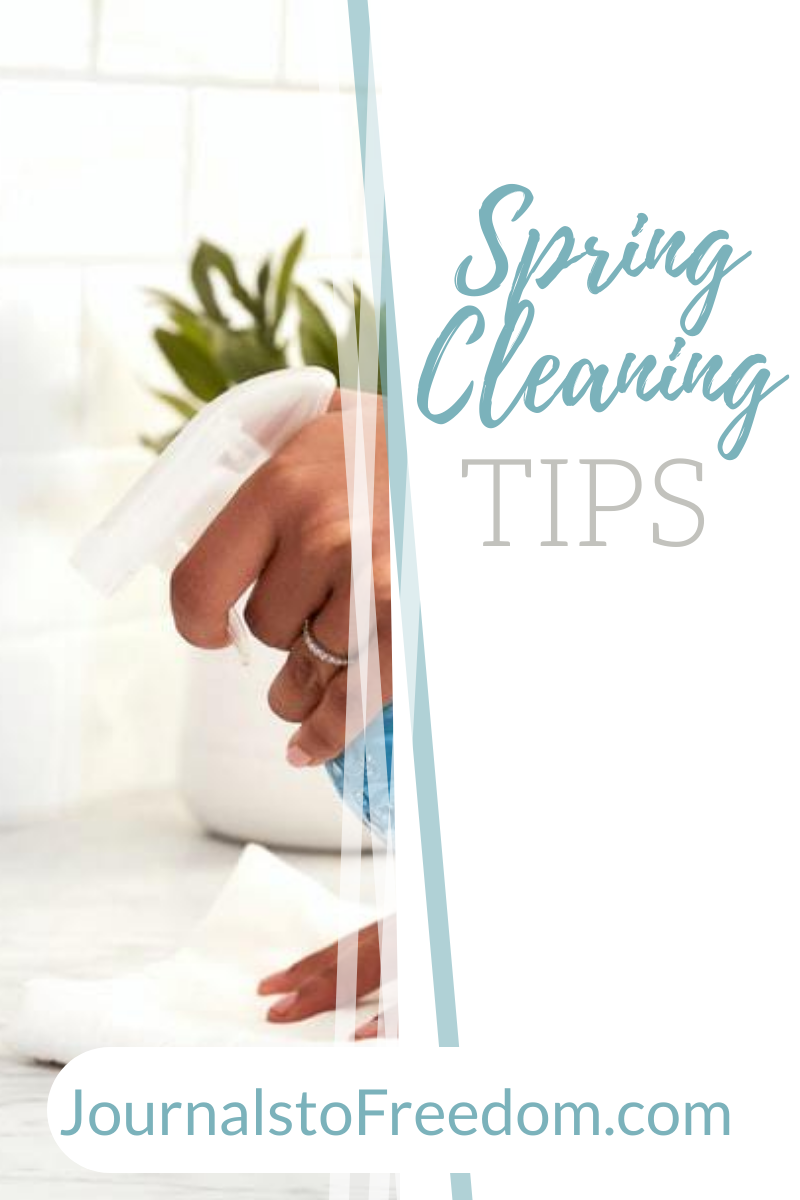 Spring Cleaning Tips and Printables