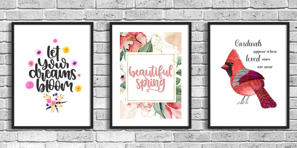 Sprint Wall Art from Journals to Freedom Printables