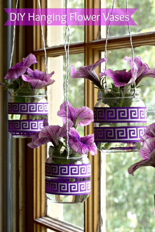 Hanging Flower Vases: Bring a Bit of Spring Indoors from Bullocks Buzz
