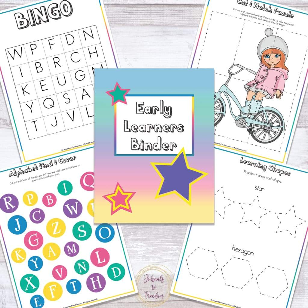 Early Learners Binder {196 Pages}