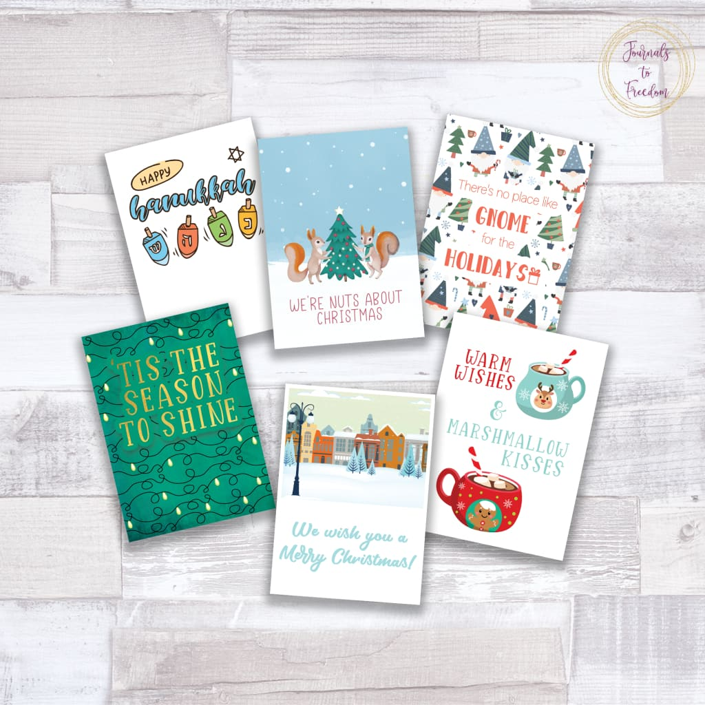Holiday Greeting Cards {15 Pages}