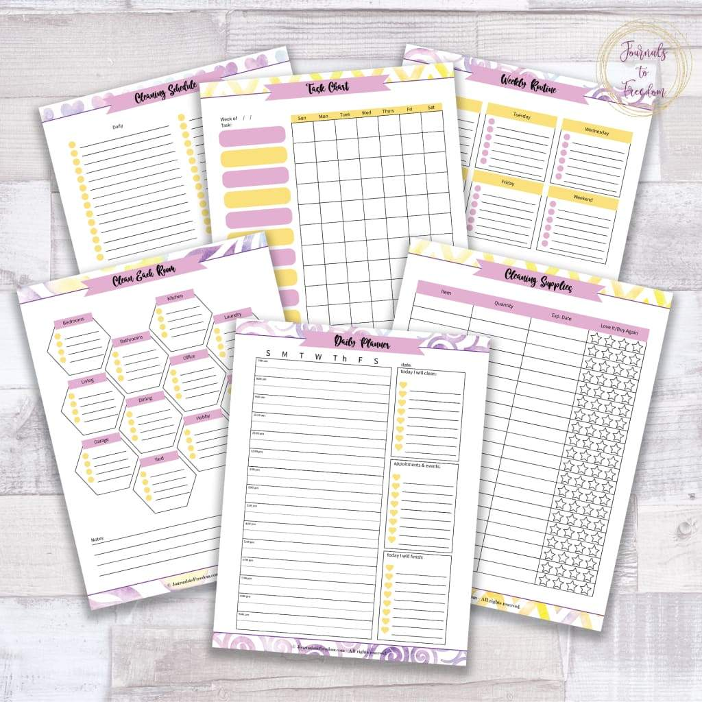 Spring Cleaning Binder {36 pages}