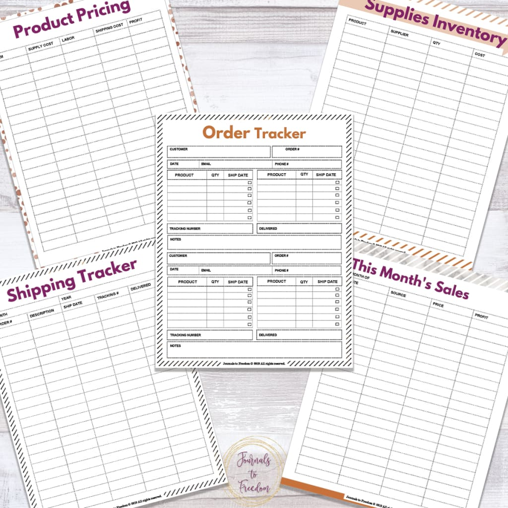 Small Business Planner {67 Pages}