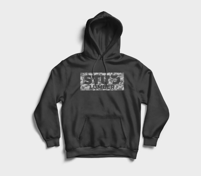 Game Day Hoodie - Black & Digital