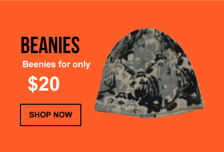 Free Shipping on all Beanies in the US