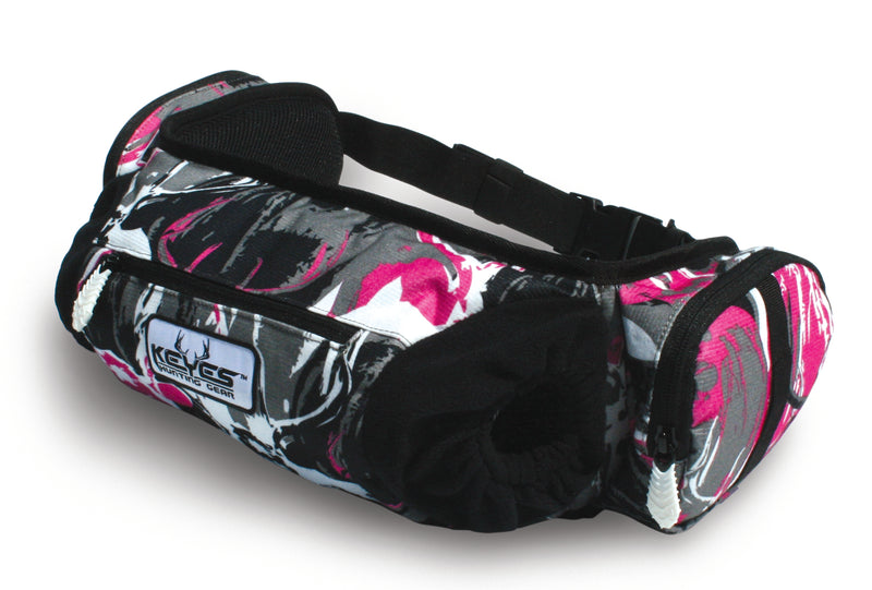Pink Camo Hand Warmer Pocket Belt