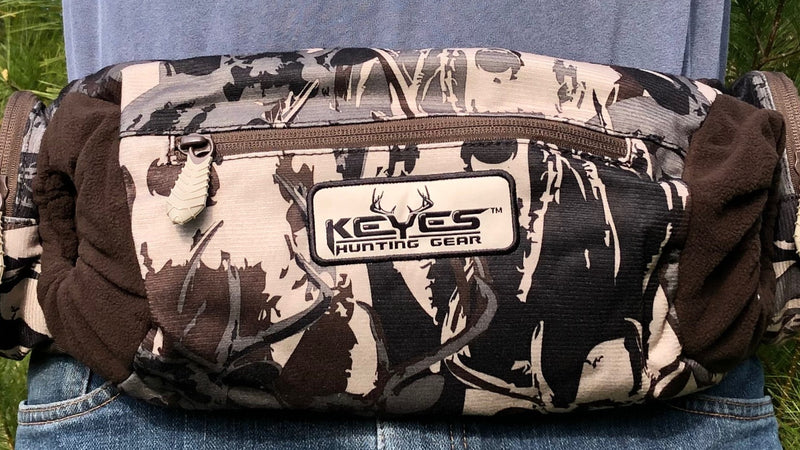 Buck Camo Hand Warmer Pocket Belt