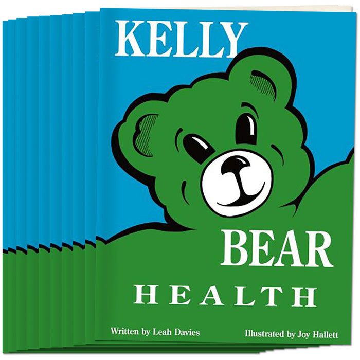 Kelly Bear Health Book, (Set of 10)