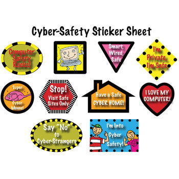 Cyber Safety Stickers (25 pack)