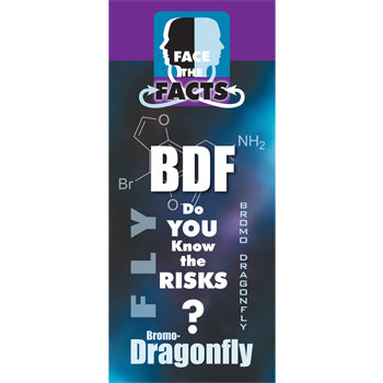 Face the Facts Drug Prevention Pamphlet   Bromo Dragonfly 25 pack