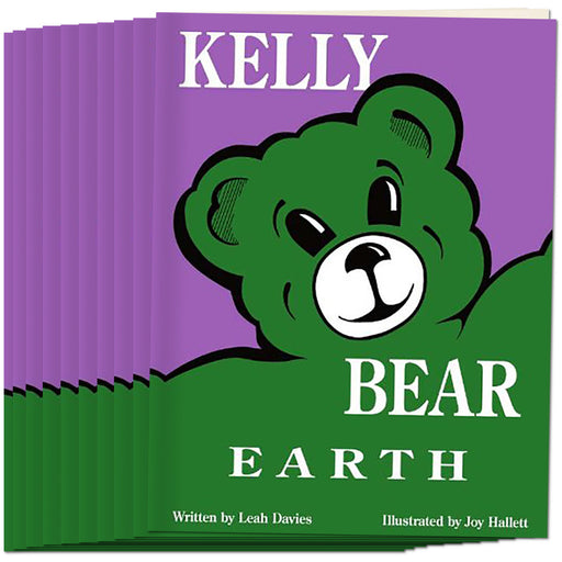 Kelly Bear Earth Book, (Set of 10)