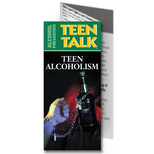 TeenTalk: (25 pack) Teen Alcoholism Pamphlet