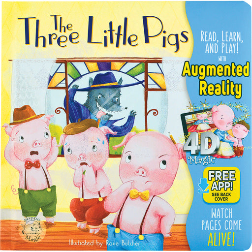 The Three Little Pigs - Little Hippo® Come-to-Life Book