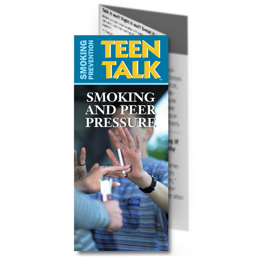 TeenTalk: (25 pack) Smoking & Peer Pressure Pamphlet