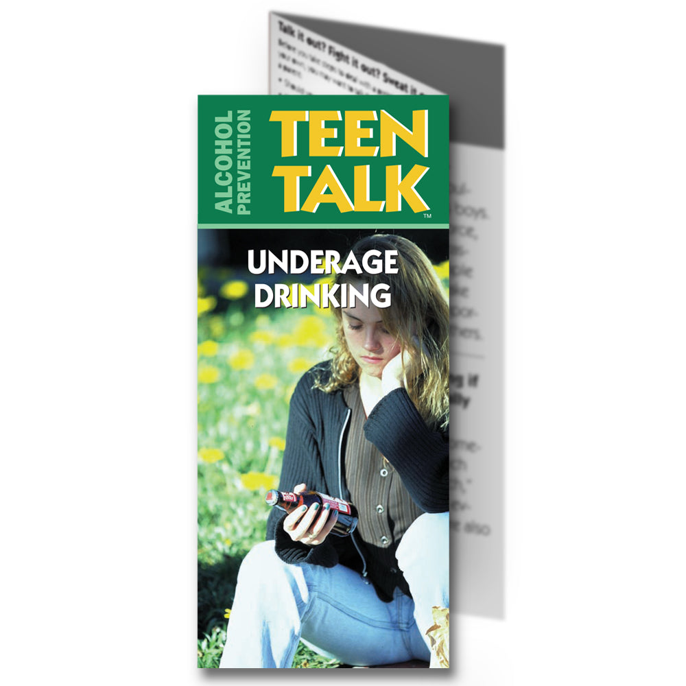 TeenTalk: (25 pack) Underage Drinking Pamphlet