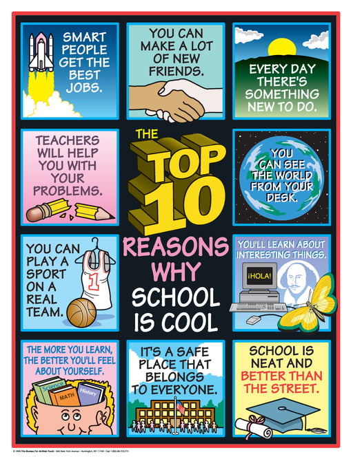 TOP 10 Reasons School Is Cool