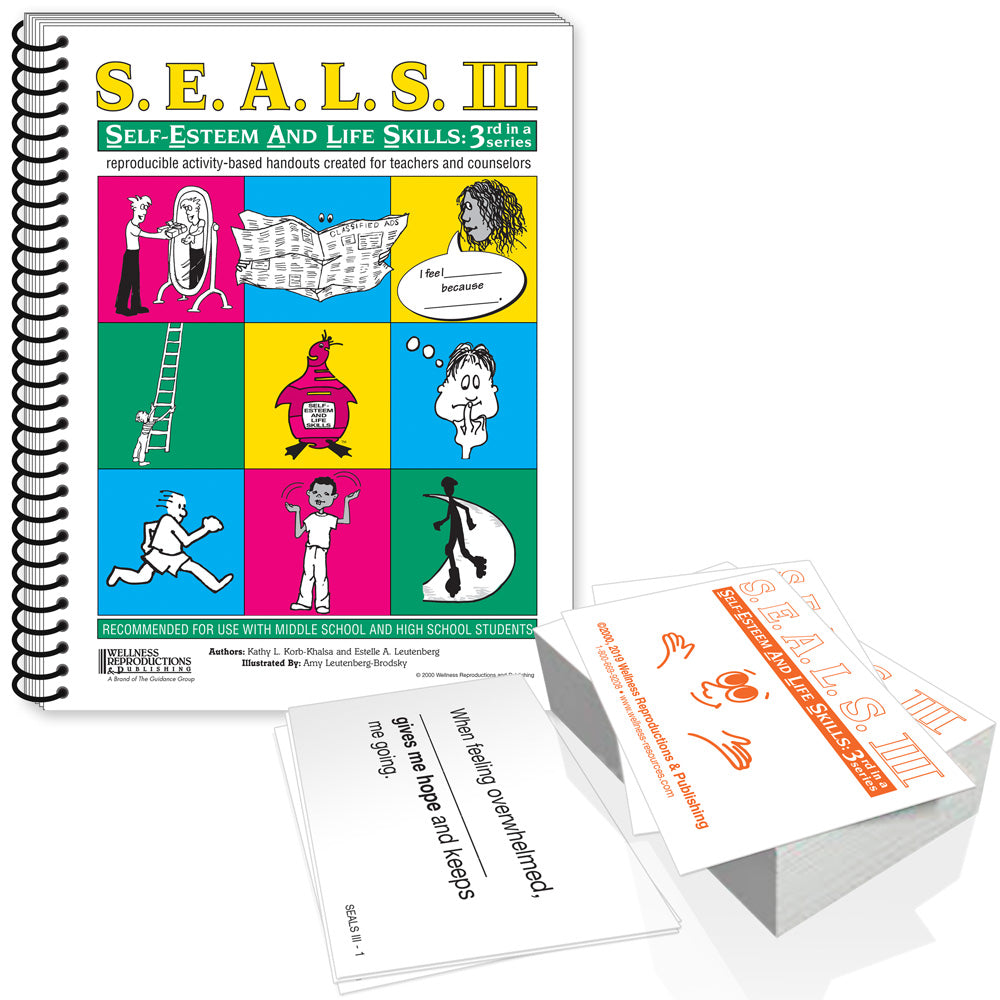S.E.A.L.S. III Book & Cards Set