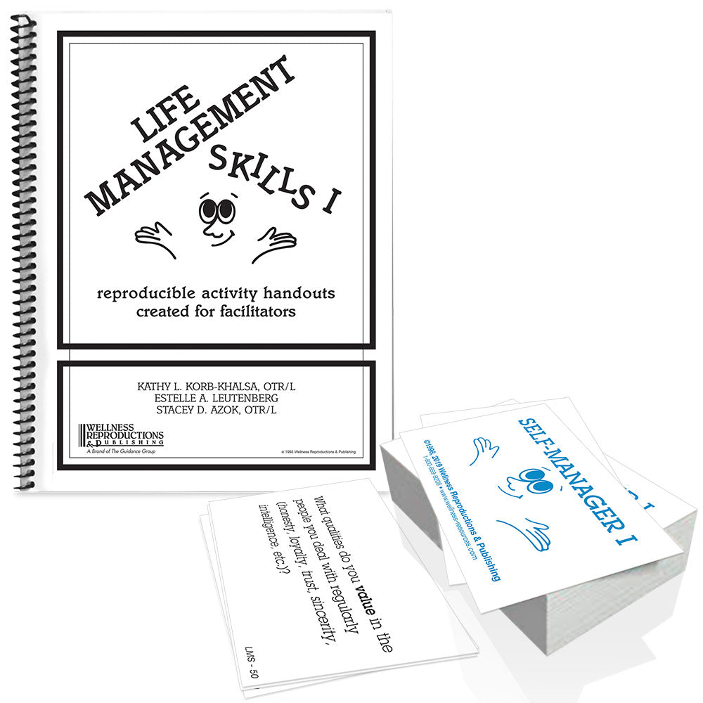 Life Management Skills I Book and Cards