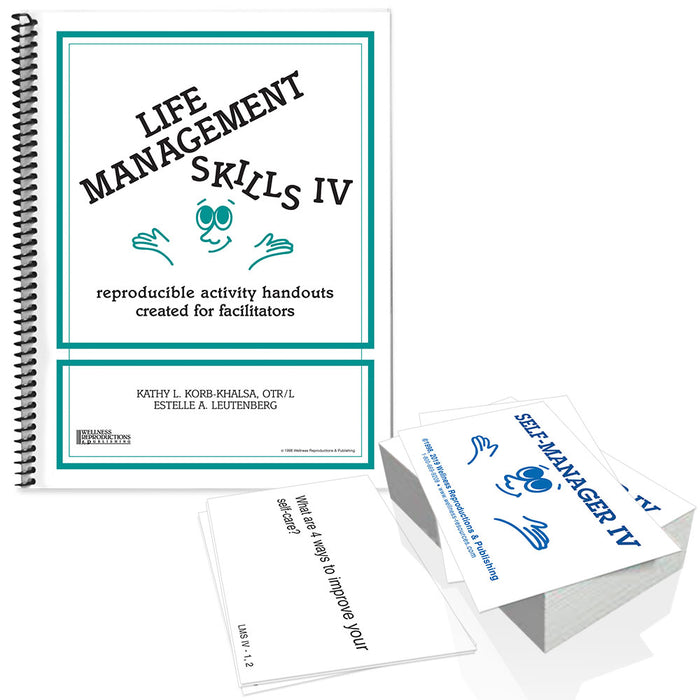 Life Management Skills IV Book & Cards Set