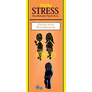 Teen Stress Pamphlet: (25 pack) Coping with Peer Pressure