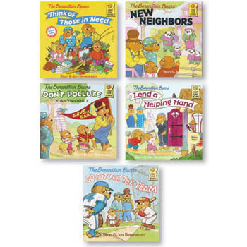 Berenstain Bears Positive Character Book Set In The Community