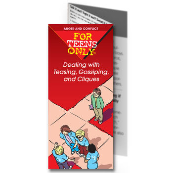 For Teens Only Pamphlet: (25 pack) Dealing with Teasing, Gossiping and Cliques