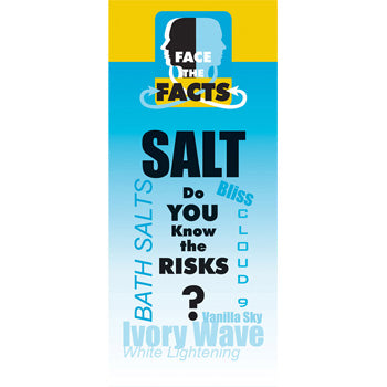 Face the Facts Drug Prevention Pamphlet   Salt 25 pack
