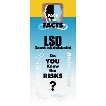 Face the Facts Drug Prevention Pamphlet   LSD 25 pack