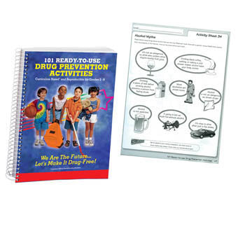 101 Ready to Use Drug Prevention Activities Book
