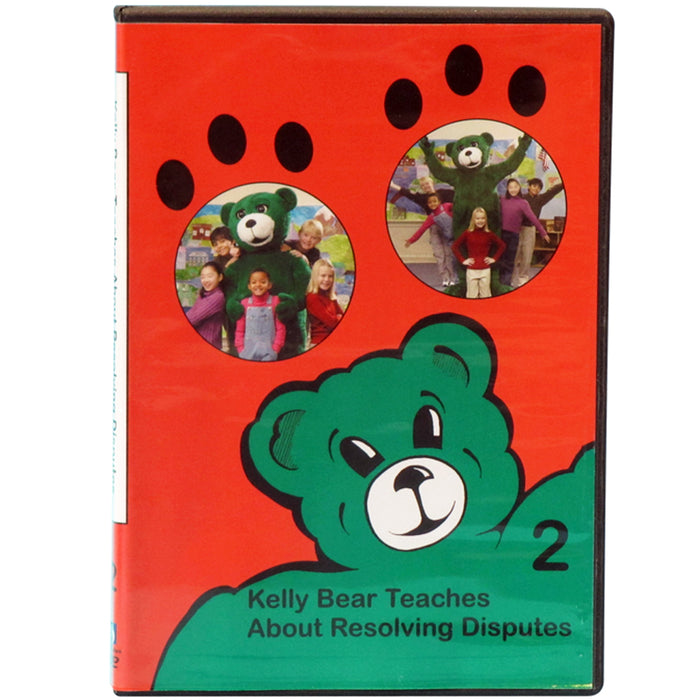 Kelly Bear Teaches About Resolving Disputes DVD