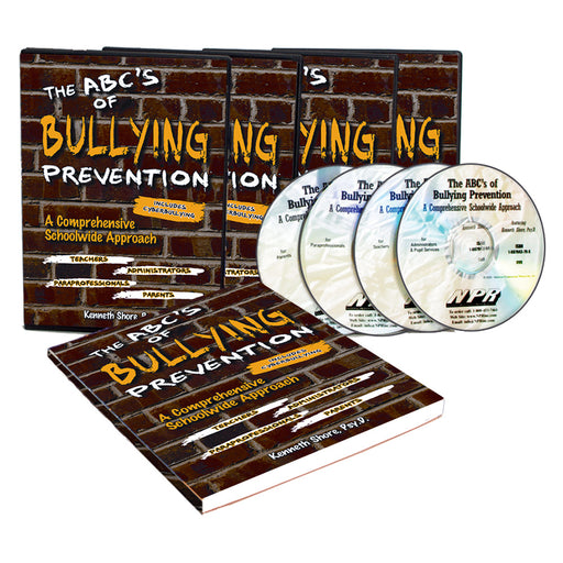 The ABC's of Bully Prevention   A Comprehensive Schoolwide Approach   Complete Set