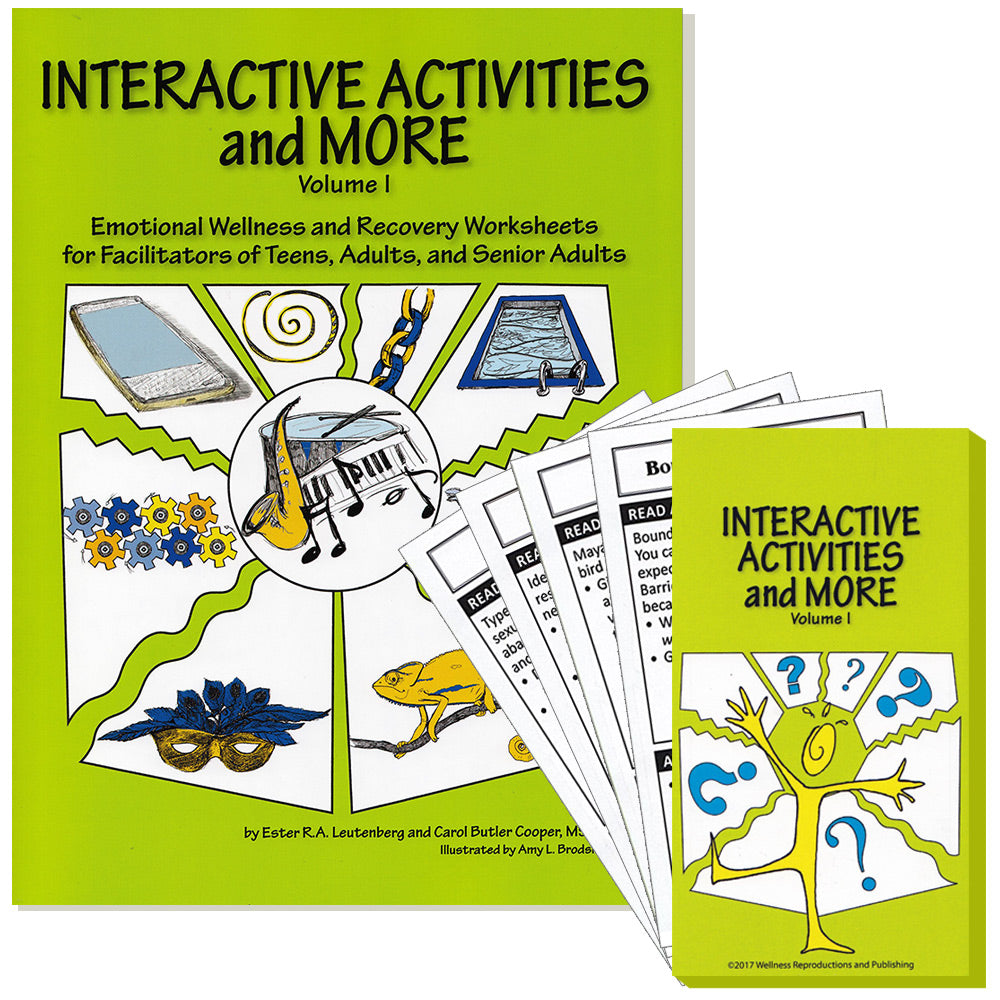 Interactive Activities & More ‐ Volume 1: Workbook and Card Game Set