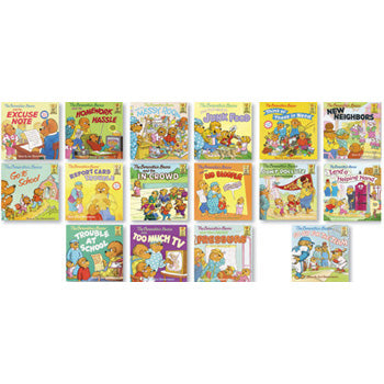 Collection of All 3 Berenstain Bears Positive Character Book Sets
