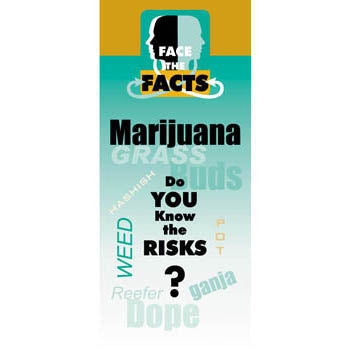 Face the Facts Drug Prevention Pamphlet   Marijuana 25 pack