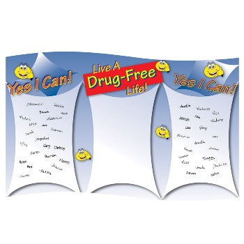Yes I Can Live A Drug Free Life! Sign Up Banner