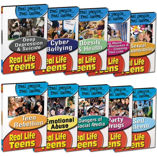Real Life Teens DVD Series — The Bureau for At-Risk Youth