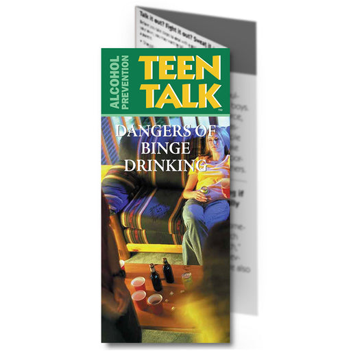 TeenTalk: (25 pack) Dangers of Binge Drinking Pamphlet