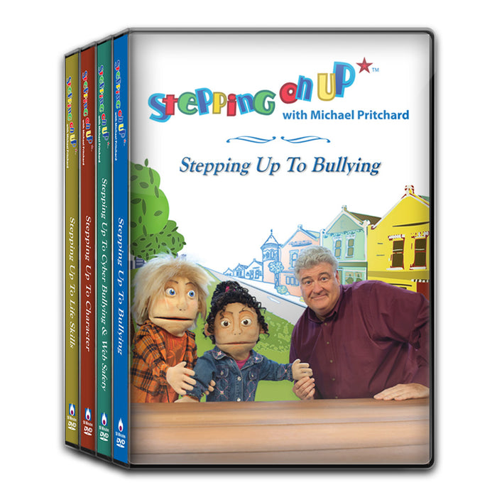 Stepping On Up DVD Series (16 Lessons on 4 DVDs)