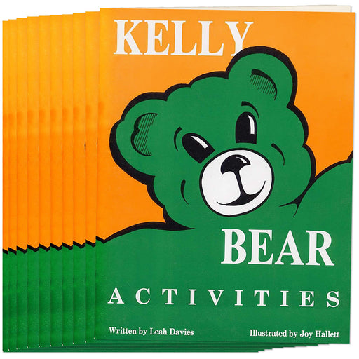 Kelly Bear Activities Book, (Set of 10)