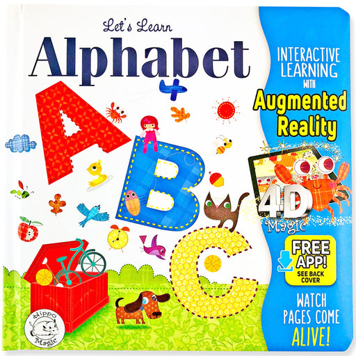 Let's Learn Alphabet: ABCs - Little Hippo® Come-to-Life Book