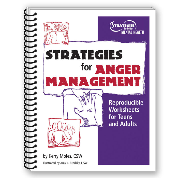 Strategies for Anger Management   Reproducible Workbook for Teens and Adults