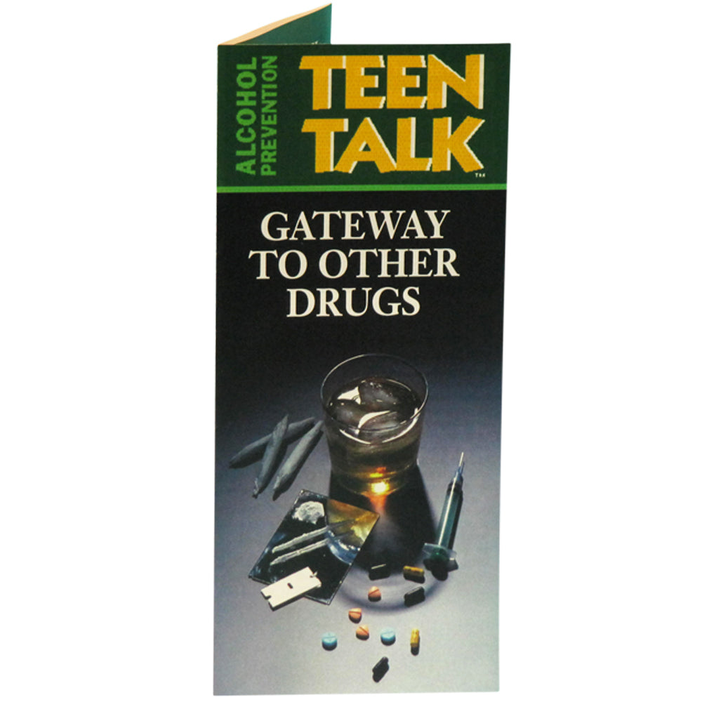 TeenTalk: (25 pack) Gateway to Other Drugs Pamphlet
