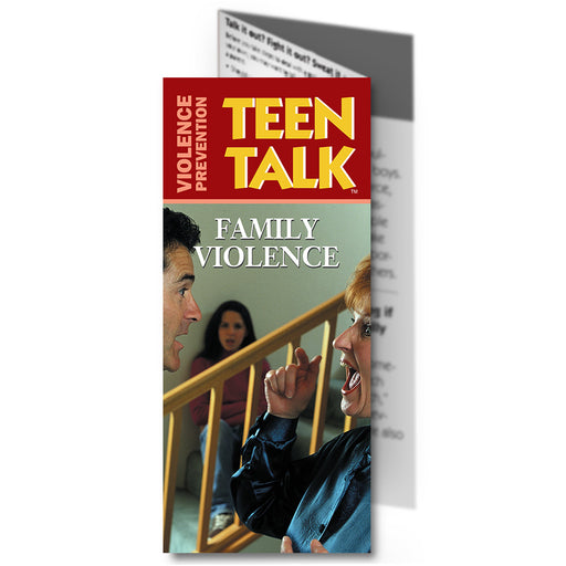 Teen Talk: (25 pack) Family Violence Pamphlet