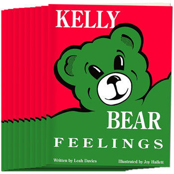 Kelly Bear Feelings Book, (Set of 10)