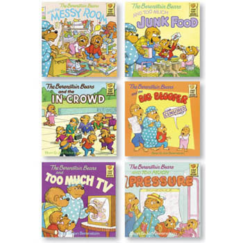 Berenstain Bears Positive Character Book Set Character At Home