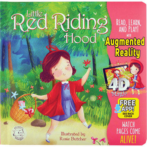Little Red Riding Hood - Little Hippo® Come-to-Life Book