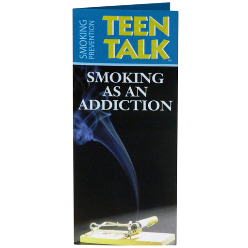 TeenTalk: (25 pack) Smoking as an Addiction Pamphlet