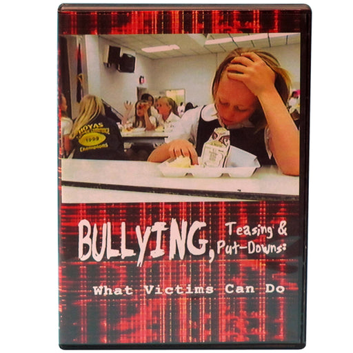 Bullying, Teasing and Put Downs: What Victims Can Do DVD