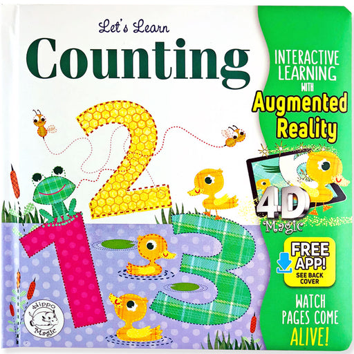 Let's Learn Counting: 123s - Little Hippo® Come-to-Life Book